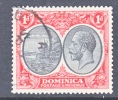 Dominica 67   (o)   Wmk 4  Script CA - Dominica (...-1978)