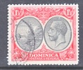 Dominica 68   (o)   Wmk 4  Script CA - Dominica (...-1978)