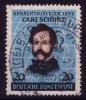 1952: Carl Schurz-Marke, Sauber Gestempelt / O - Gebraucht