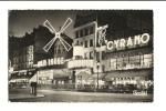 Cp, 75, Paris, Le Moulin Rouge La Nuit - Francia