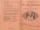 Mon Petit Catechisme Illustré-1941 - Religion & Esotericism