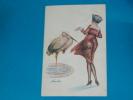 Illustrateurs - Sager - Série N° 103 - N° 546 ( Le Cygne Et La Grue ) Trichromes-   EDIT -  A.e.o. - Sager, Xavier