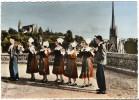 35  FOUGERES  -  CPM 1950 / 60  -  LE CERCLE ART ET FOLKLORE  -  EGLISE ST LEONARD  -  EGLISE ST SULPICE - Fougeres