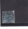 DANEMARK - YVERT N°3 OBLITERE - COTE = 90 EUROS - 1851-63 (Frederik VII)