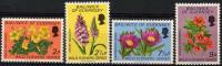 Ile De Guernesey (1972) N 62 à 65 ** (Luxe) (Fleurs) - Guernesey