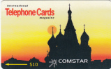 """RUSSIA(GPT) - St. Basil""""s Cathedral($10), Comstar Telecard, CN : 6SSRA, Tirage 1500, Mint - Russia"""