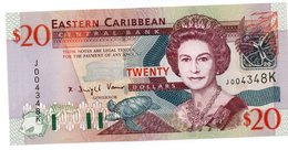EASTERN CARIBBEAN STATES: ANTIGUA ND (2003) $50 UNC - Caraïbes Orientales