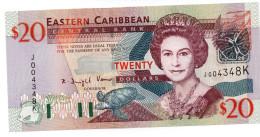 EASTERN CARIBBEAN STATES: ANTIGUA ND (2003) $50 UNC - Caraibi Orientale