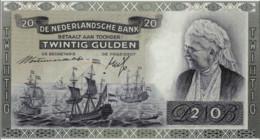 1943 Netherlands Indies 25 Gulden Note. P-115a - Indie Olandesi