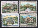 1985 Repubblica Le Ville D'Italia N. 1732-35 TIMBRATO Used - 1946-.. République