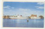 Denmark Esbjerg-Harwich Ferry Sent 1952 Color - Danimarca