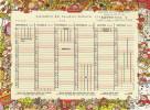 Calendrier Publicitaire De La Marque Banette Pour L´année Scolaire 1999/2000 Format 17x23 - Calendriers