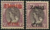 Pays-Bas (1919) Surchargé N 94 Et 95 * (charniere)