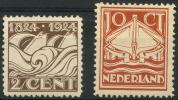 Pays-Bas (1924) N 157 & 158 * (charniere)
