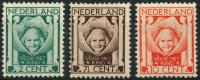 Pays-Bas (1924) N 159 à 161 * (charniere)