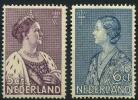 Pays-Bas (1934) N 263 à 264 * (charniere)