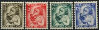 Pays-Bas (1934) N 268 à 271 * (charniere)