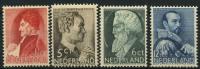 Pays-Bas (1935) N 272 à 275 * (charniere)