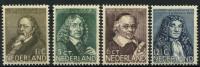 Pays-Bas (1937) N 295 à 298 * (charniere)