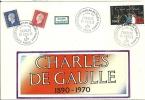"""CDG 51  """" Exposition MAISON DE LA RADIO: Charles De Gaulle """" 75 - Paris Le 13-14 DEC. 1980 - De Gaulle (Général)"""