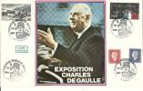 """CDG 53  """" Exposition Charles De Gaulle """" 59 - Dunkerque Le 11 Juin 1983 - De Gaulle (Général)"""