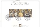 FDS 2006-28 - Les Anges Musiciens De Hans Memling - FDC