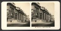 België / Belgique - Brussel / Bruxelles ± 1890 - 1905, Façade Du Musée Royal - Stereoscoop