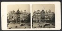 België / Belgique - Brussel / Bruxelles ± 1890 - 1905, La Maison Des Tailleurs - Stereoscoop