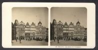 België / Belgique - Brussel / Bruxelles ± 1890 - 1905, La Maison Des Boulangers - Stereoscoop