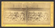België / Belgique - Brussel / Bruxelles ± 1890 - 1905, Strijdbeeld (C. Bretagne á Louvain) - Stereoscoop