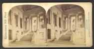 België / Belgique - Brussel / Bruxelles ± 1890 - 1905, Le Grand Escalier Du Palais De Justice - Stereoscoop