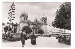 PERU  ( PEROU ) /  CUZCO  /  PLAZA  DE  ARMAS  CON  LA  CATEDRAL  /  Edit.  SWISS-FOTO   n� 60096  /  BEAU  TIMBRE . . .