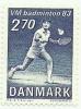 1983 - Danimarca 772 Mondiali Badminton, - Badminton