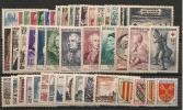 FRANCE - ANNEE COMPLETE 1955 (46 Timbres)  - Neufs Sans Charnière - 1950-1959