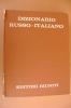 PAX/4 DIZIONARIO RUSSO-ITALIANO Editori Riuniti I Ed. 1952 - Dizionari