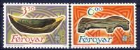 ##Faroe Islands 1989. EUROPE/CEPT. Michel 184-85. MNH(**) - Islas Faeroes