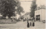 CPA 23 CREUSE CHAMBORAND PLACE DU TILLEUL  BIEN ANIMEE EN 1916 - France