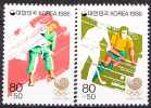 South Korea 1986 Yvert 1332/33, Summer Olympic Games, Seoul (VII), MNH - Corée Du Sud