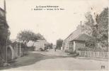 CPA 23 CREUSE MARSAC AVENUE DE LA GARE 1916 - France