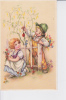 Couple D'enfants, Le Garçon Tient Une Branche Sur Laquelle Grimpe Une Coccinelle - Enfants