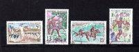 Polinesia     1967.-    Y&T  Nº    47/50 - Polinesia Francesa