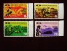 KUT 1974 SOCIAL WELFARE CONFERENCE Issue 4 Values To 2/50  MNH. - Kenya, Uganda & Tanganyika