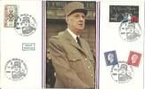 """CDG 57 """" Exposition Charles De Gaulle """"   59 - Dunkerque  Le 11 Juin 1983 - De Gaulle (Général)"""
