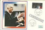 """CDG 61 """" Premier Jour D´Emission """" 75 - PARIS Le 8 Novembre 1980 - De Gaulle (Général)"""