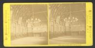 België / Belgique - Brussel / Bruxelles ± 1890 - 1905, Hotel-de-Ville (Salle Du Trone) - Stereoscoop