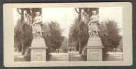 Amateur Stereoview België / Belgique - Brussel / Bruxelles 1905, Diana In Het Park - Stereoscoop