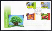 Norfolk Island Scott #923 -926 FDC Set Of 4 Celebrating 30 Years Of Banyan Park Play Centre - Ile Norfolk
