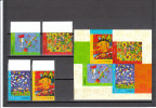 CINA 2009 Dipinti Di Bambini - 4 Valori Serie  - 4 Valori Autoadesivi Da Libretto - Cina