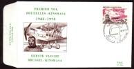 """FDC COB N° 1782 - Liaison Aérienne BRUXELLES-KINSHASA - Oblitération: """"LA LOUVIERE - 18/10/75"""". - 1971-80"""