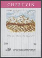 THEME DIVERS étiquette De Vin CHERUVIN ROSE - MONTAGNE - Bergen